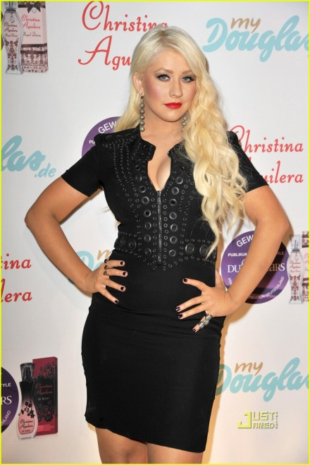 Christina Aguilera Presents New Fragrance 'Royal Desire'